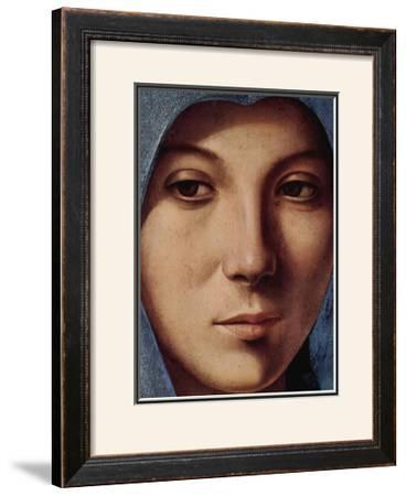 Gesicht der Maria Portrait