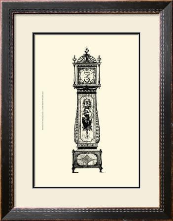 Antique Grandfather Clock II