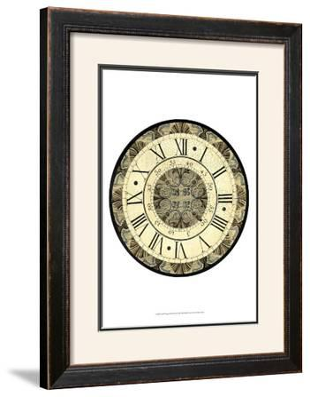 Vintage Motif Clock