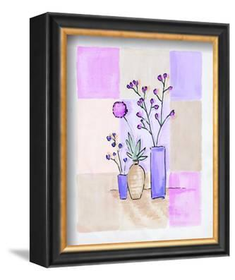 Floral with Modern Vases