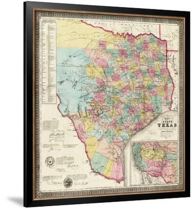 The State of Texas, c.1856