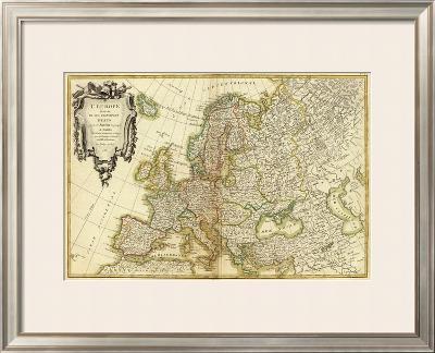 L'Europe, c.1782