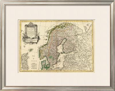 Suede, Danemarck et Norwege, c.1762