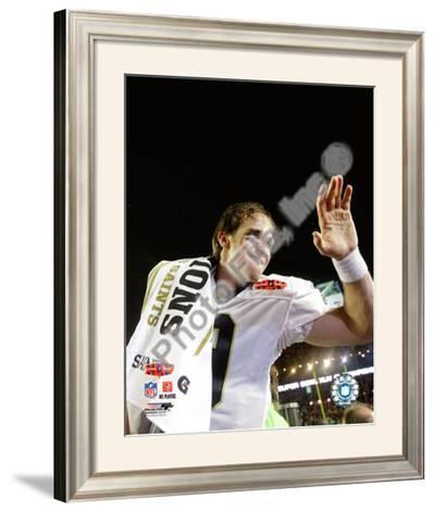 Drew Brees Super Bowl XLIV