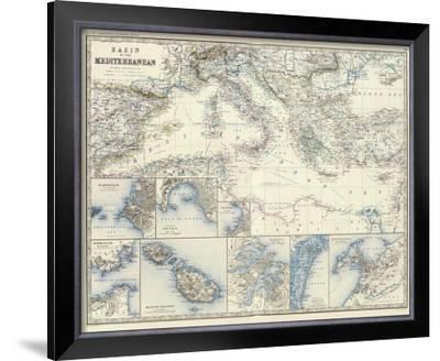 Mediterranean Basin, c.1861
