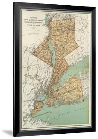 New York: Kings, Queens, Richmond, Rockland, Westchester, Putnam Counties, c.1895