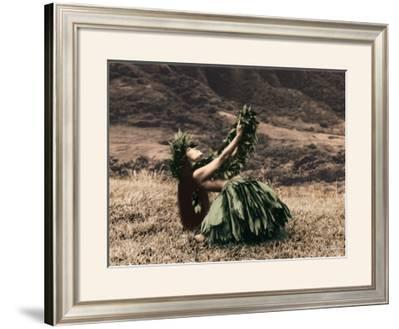 Offering to Pele, Hula Girl