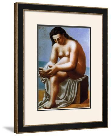 Femme Nue S'Essuyant le Pied, c.1921