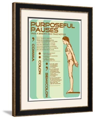 Punctuation: Purposeful Pauses