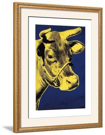 Cow, c.1971 (Blue and Yellow)