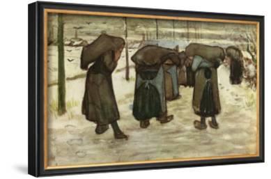 Women Carrying Sacks of Coal