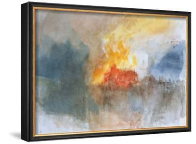 The Burning of the Houses of Parliament, c.1834