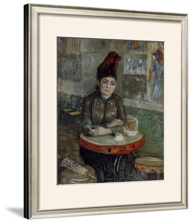 Woman at a Table in the Cafe du Tambourin