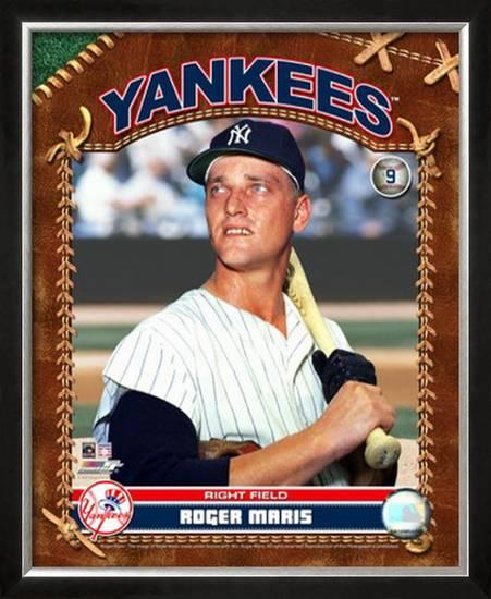 Roger Maris Framed Photographic Print At Allposters