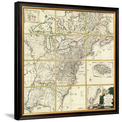 Composite: Colonie Unite dell' America Settentrle, c.1778
