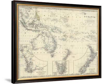 Oceania, c.1861
