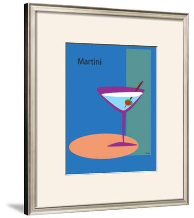 Martini in Blue