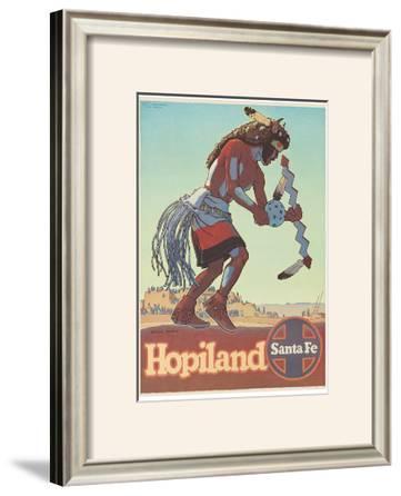 Santa Fe Railroad: Hopiland, c.1940's