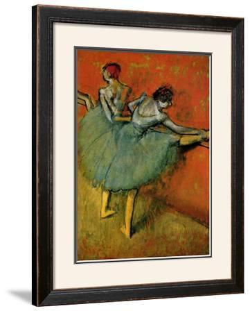 Tanzerinnen an der Stange Ballerina