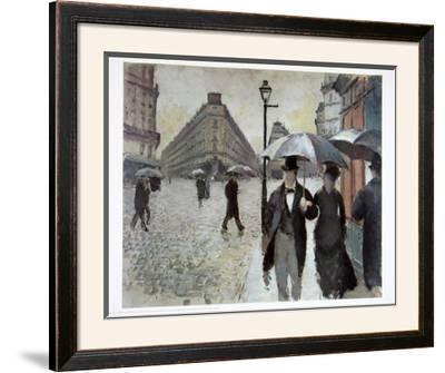 Paris, A Rainy Day, 1877