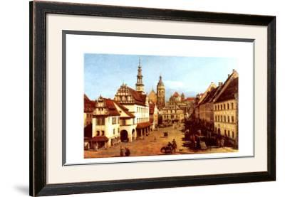 Der Marktplatz Zu Pirna
