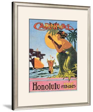 Mid-Pacific Carnival, Honolulu, 1916