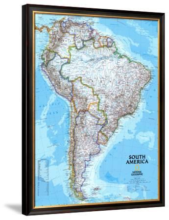 South America Political Map