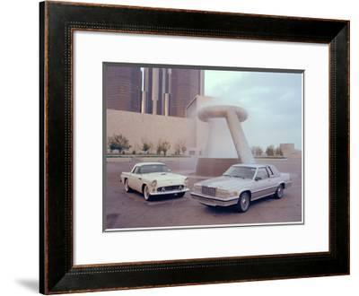 1955 and 1980 Ford Thunderbird