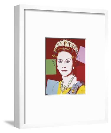 Reigning Queens: Queen Elizabeth II of the United Kingdom, c.1985 (Dark Outline)