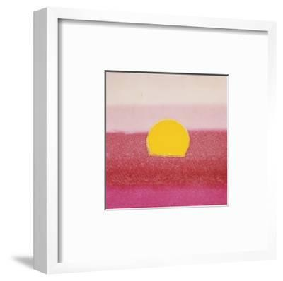 Sunset, c.1972 (hot pink, pink, yellow)