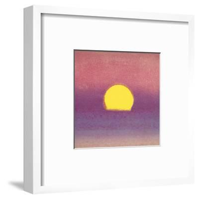 Sunset, c.1972 (pink, purple, yellow)