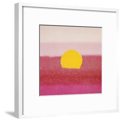 Sunset, c.1972 (hot pink, pink, yellow)