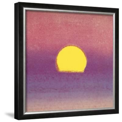 Sunset, c.1972 (pink, purple, yellow)