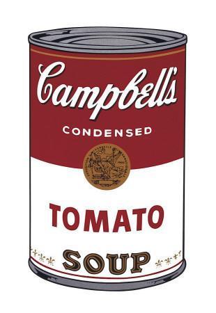 Campbell's Soup I (Tomato), c.1968