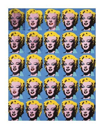 Twenty-Five Colored Marilyns, c.1962