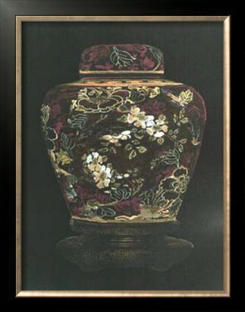 Oriental Ginger Jar II