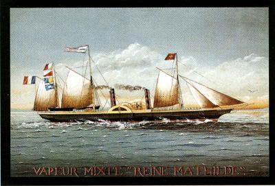 Vapeur Mixte Reine Mathilde