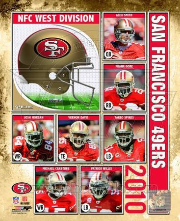 2010 San Francisco 49ers Team Composite