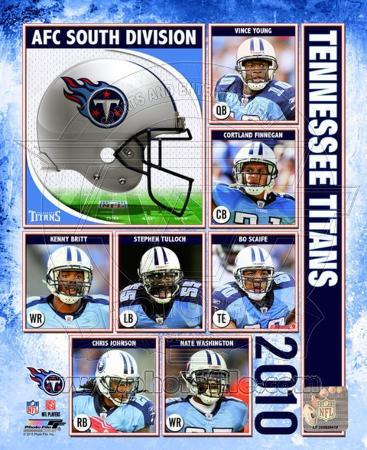 2010 Tennessee Titans Team Composite