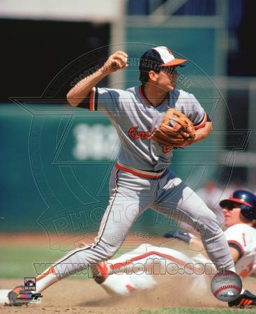Cal Ripken Jr. 1985 Action