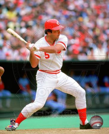 Johnny Bench Action