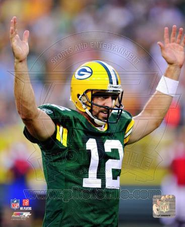 Aaron Rodgers 2010 Action