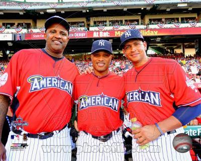 CC Sabathia, Robinson Cano & Alex Rodriguez 2010 MLB All-Star Game