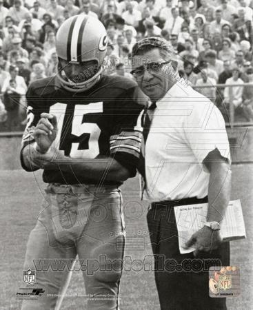NFL Vince Lombardi & Bart Starr