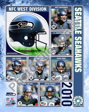 2010 Seattle Seahawks Team Composite