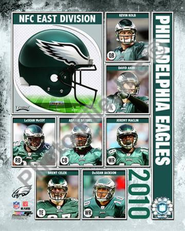 2010 Philadelphia Eagles Team Composite