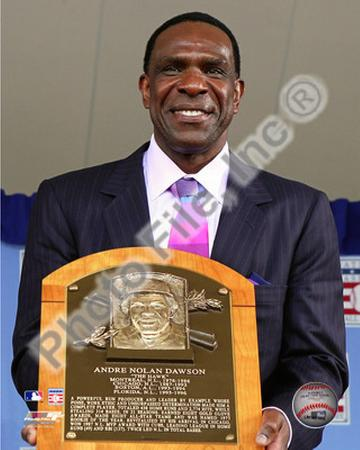 Andre Dawson 2010 Baseball Hall of Fame Induction