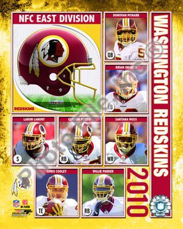 2010 Washington Redskins Team Composite