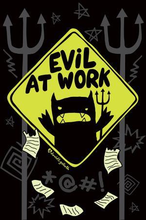 David & Goliath Monster Mash (Evil At Work)
