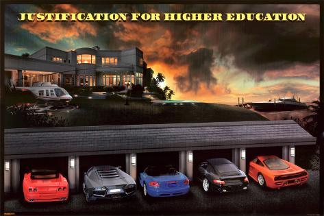justification for higher education meaning